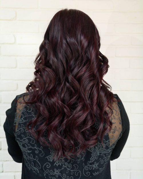 3349783357899f 38 Best Burgundy Hair Ideas of 2019 - Yummy Wine Colors