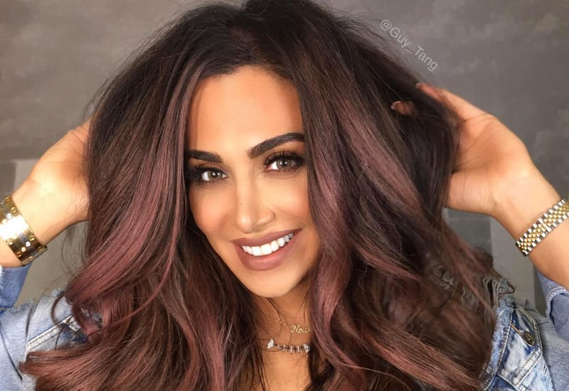 2018 Hairstyle For Dark Hair Color: 35 Best Burgundy Hair Ideas Of 2018