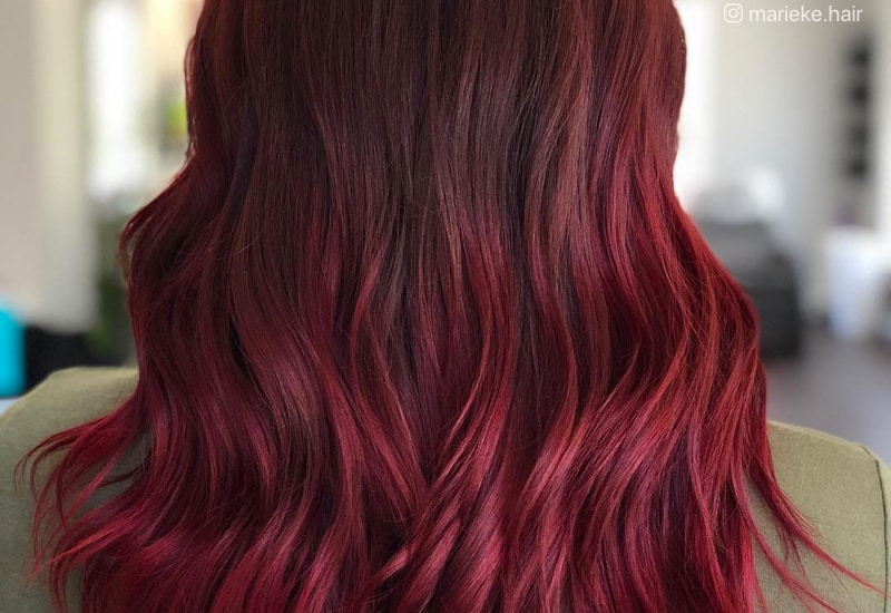 burgundy hair color styles 33 brilliant burgundy hair color ideas trending in 2018 8951