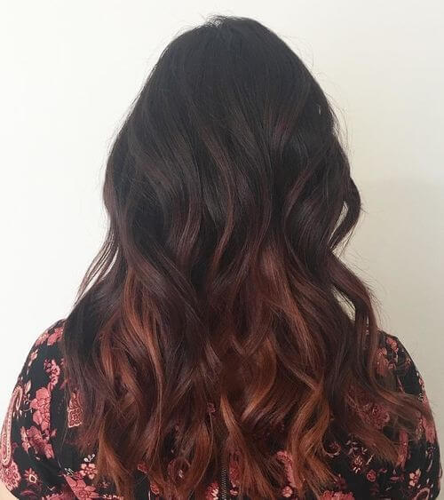 burgundy-ombre