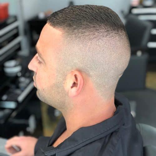 Buzz Cut pada Rambut Tipis