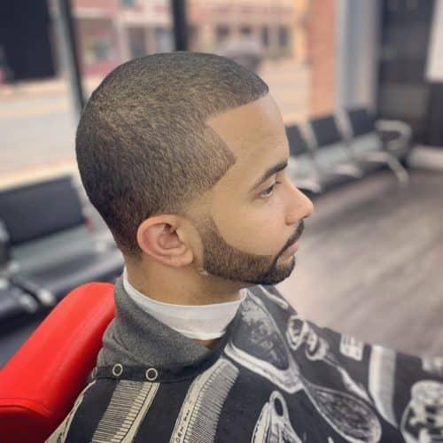 Corte de pelo con barba