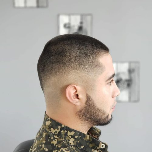 Buzz Cut con Skin Fade Style
