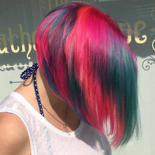 Candy-Inspired Bob hairstyle