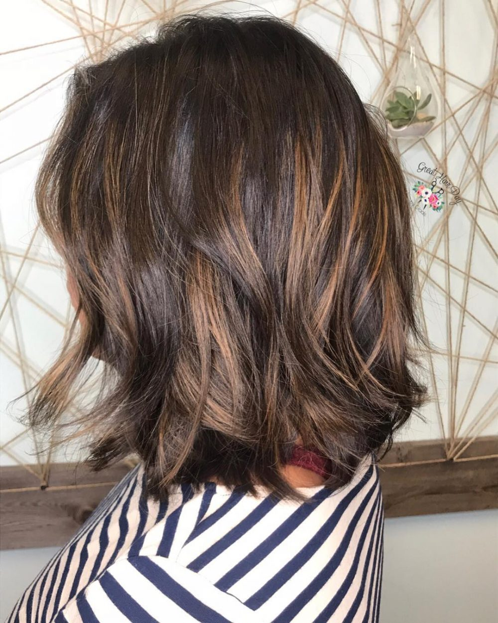 Naturally Black Hair To Brown