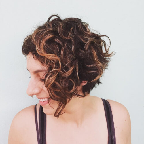 Tremendous 15 Sexy Short Curly Hairstyles Haircuts For 2017 Hairstyle Inspiration Daily Dogsangcom