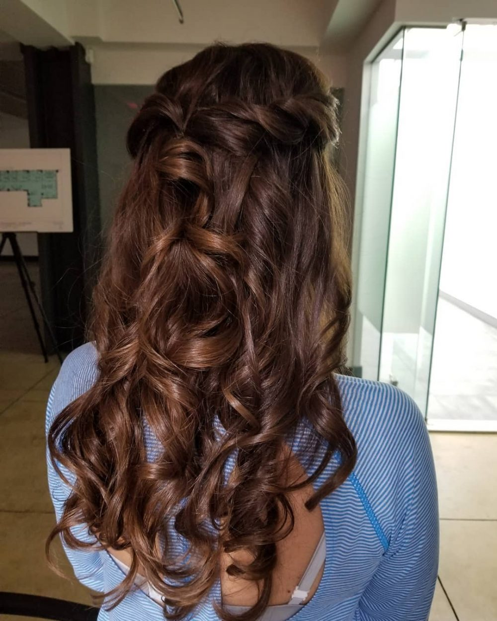 Cascading Twists hairstyle