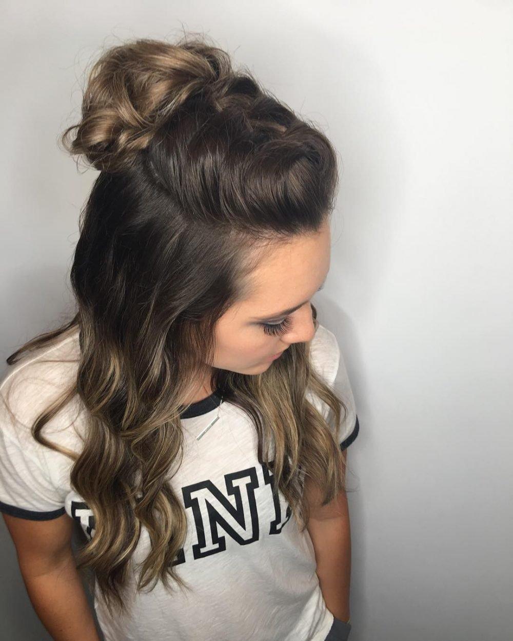 24 Simple Hairstyles For Long Hair Trending In 2018