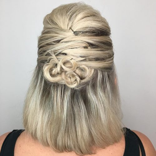 Picture of Celtic knots evening hairstyle