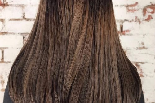 24 top blonde highlights that are trending for 2018 29 fabulous ideas for dark brown hair with highlights pmusecretfo Image collections