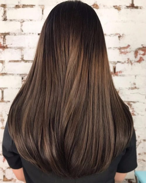 29 incredible dark brown hair with highlights trending for 2018 chesnut tones hairstyle pmusecretfo Gallery