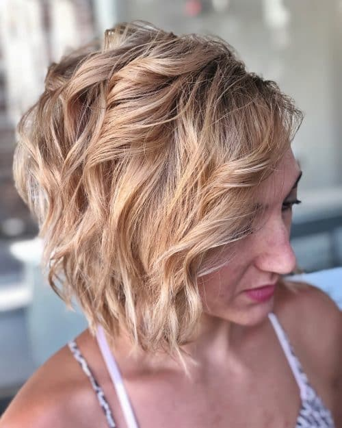 Chic Asymmetrical Bob