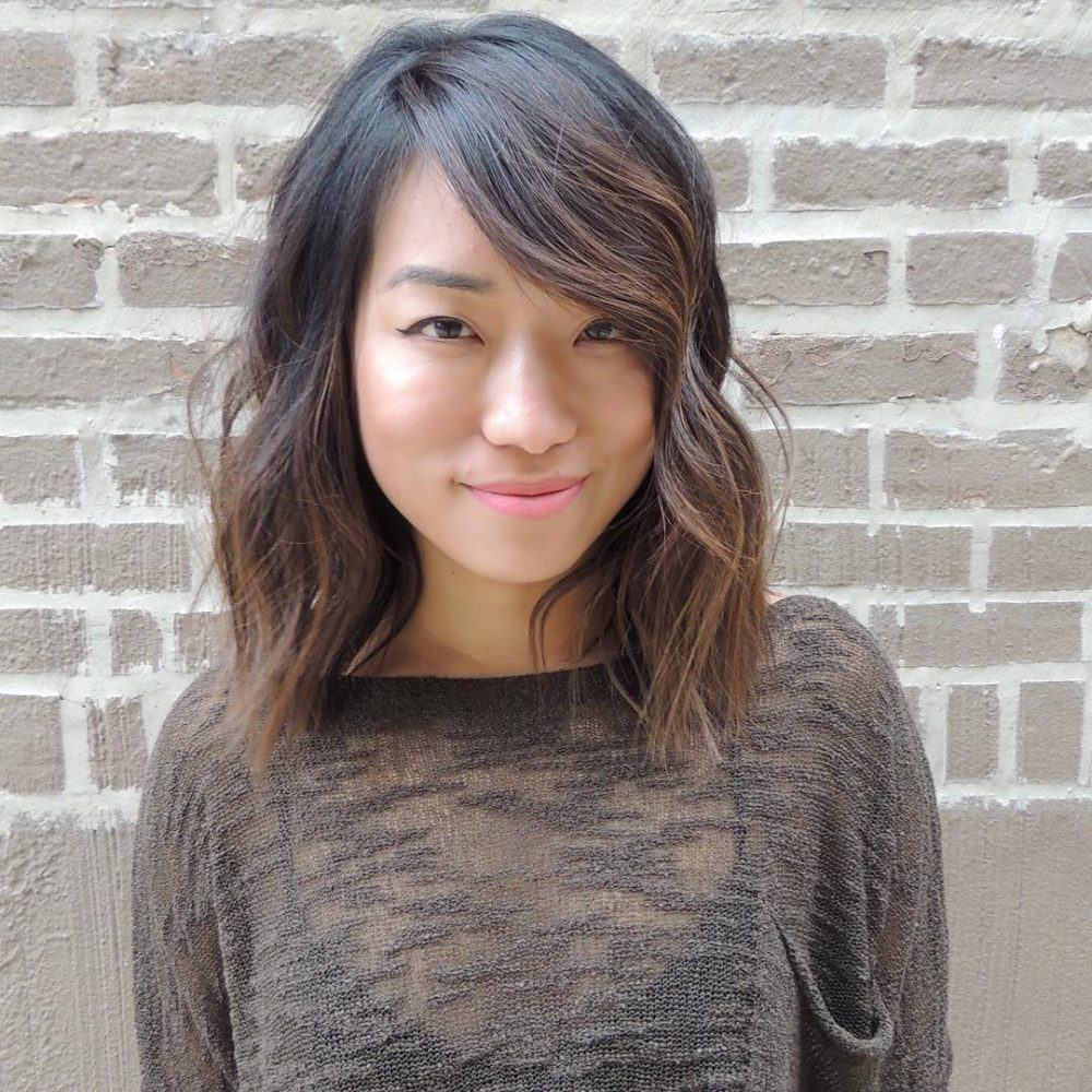 Chic, Current, and Effortless hairstyle