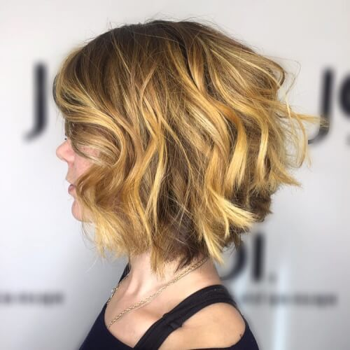 chic and edgy short haircut