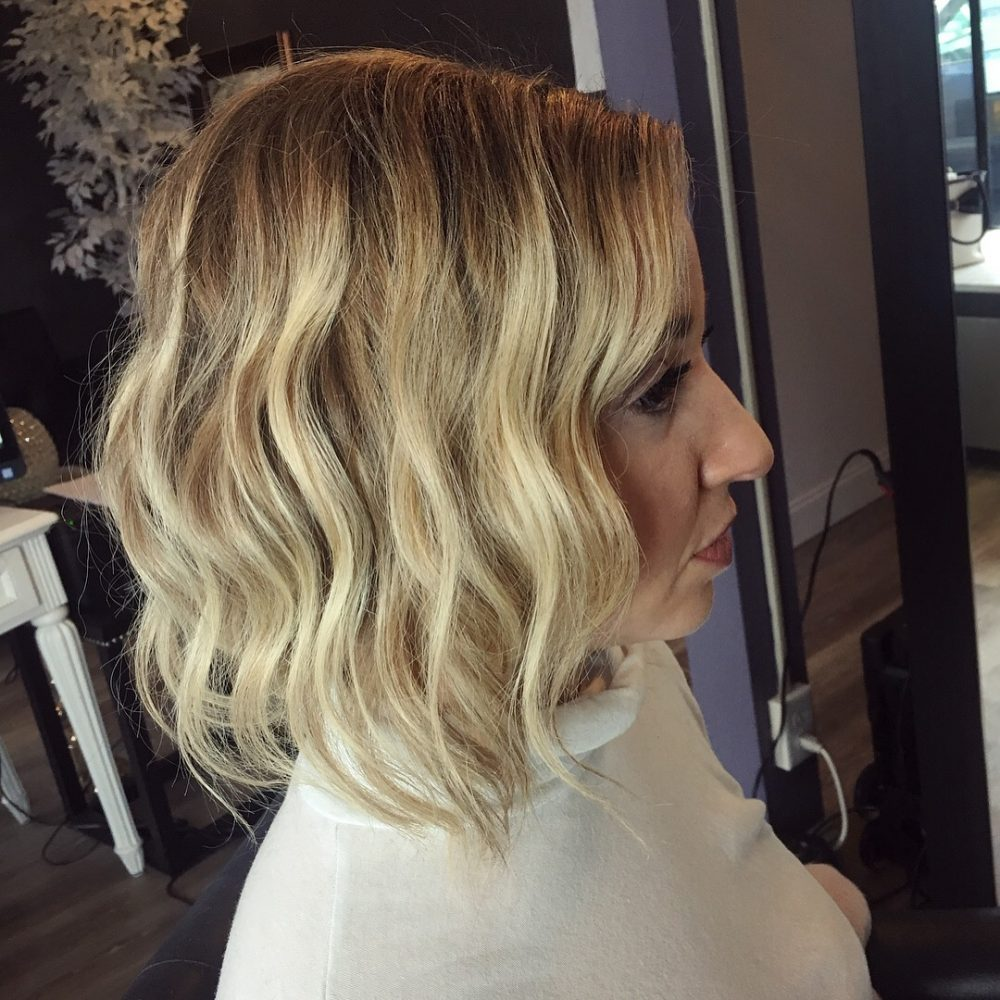 Chic Textured Faux Bob hairstyle