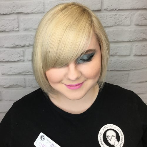 Chin-Length Bob with Bangs
