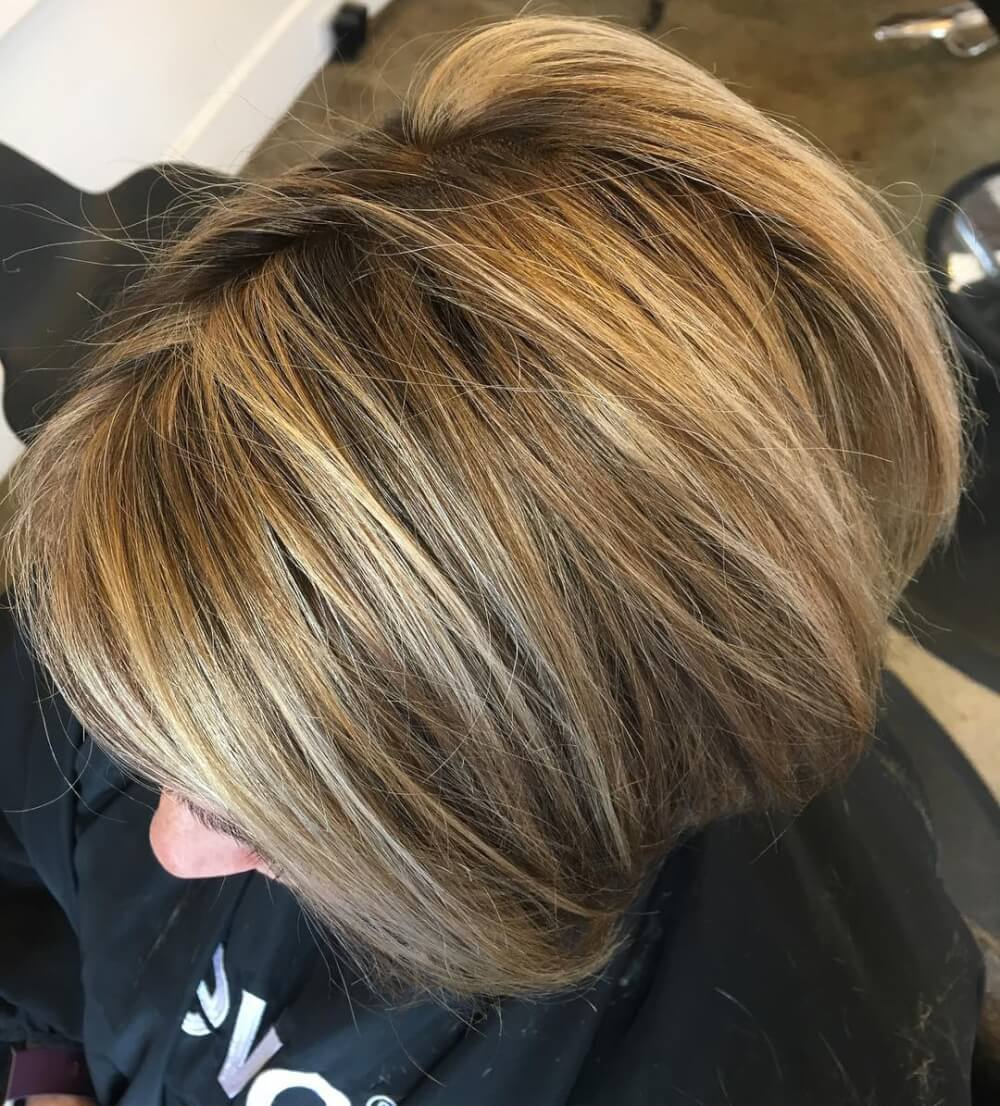 Blended Bob hairstyle