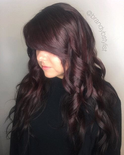 chocolate-burgundy-hair-color