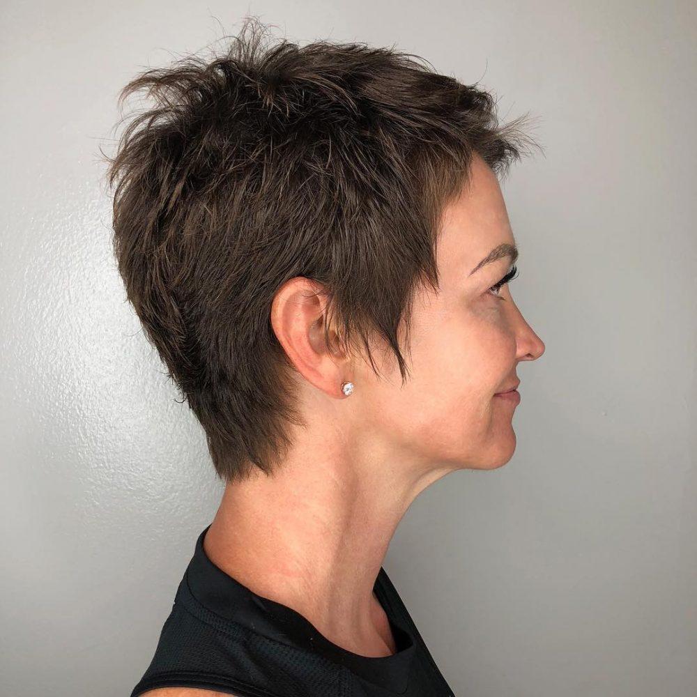 Sassy Choppy Crop para cabello extrafino