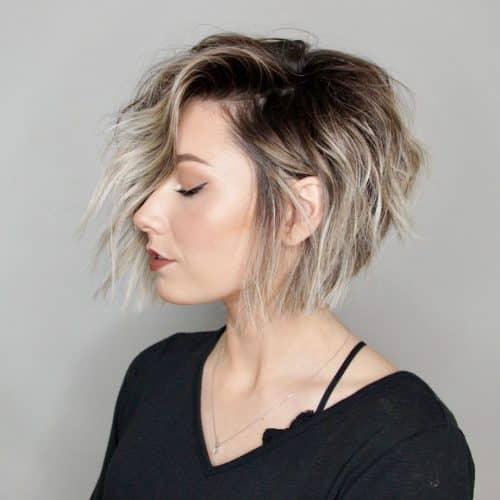 21 Short Choppy Haircuts Women Are Getting In 2020
