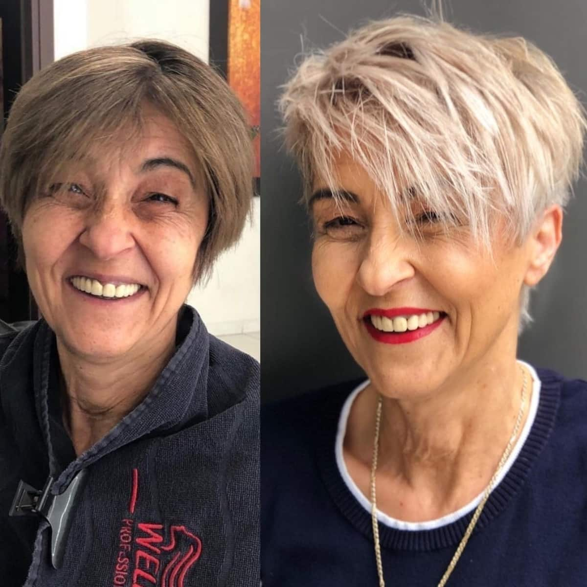 9 Volume Boosting Haircuts for Older Women With Thin Hair