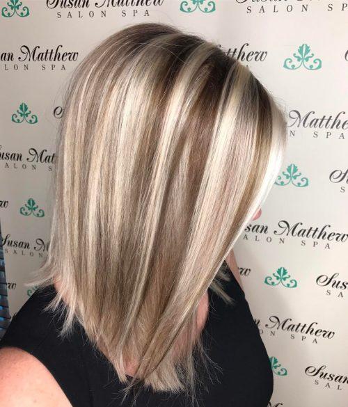 1 Short To Medium Layered Haircut