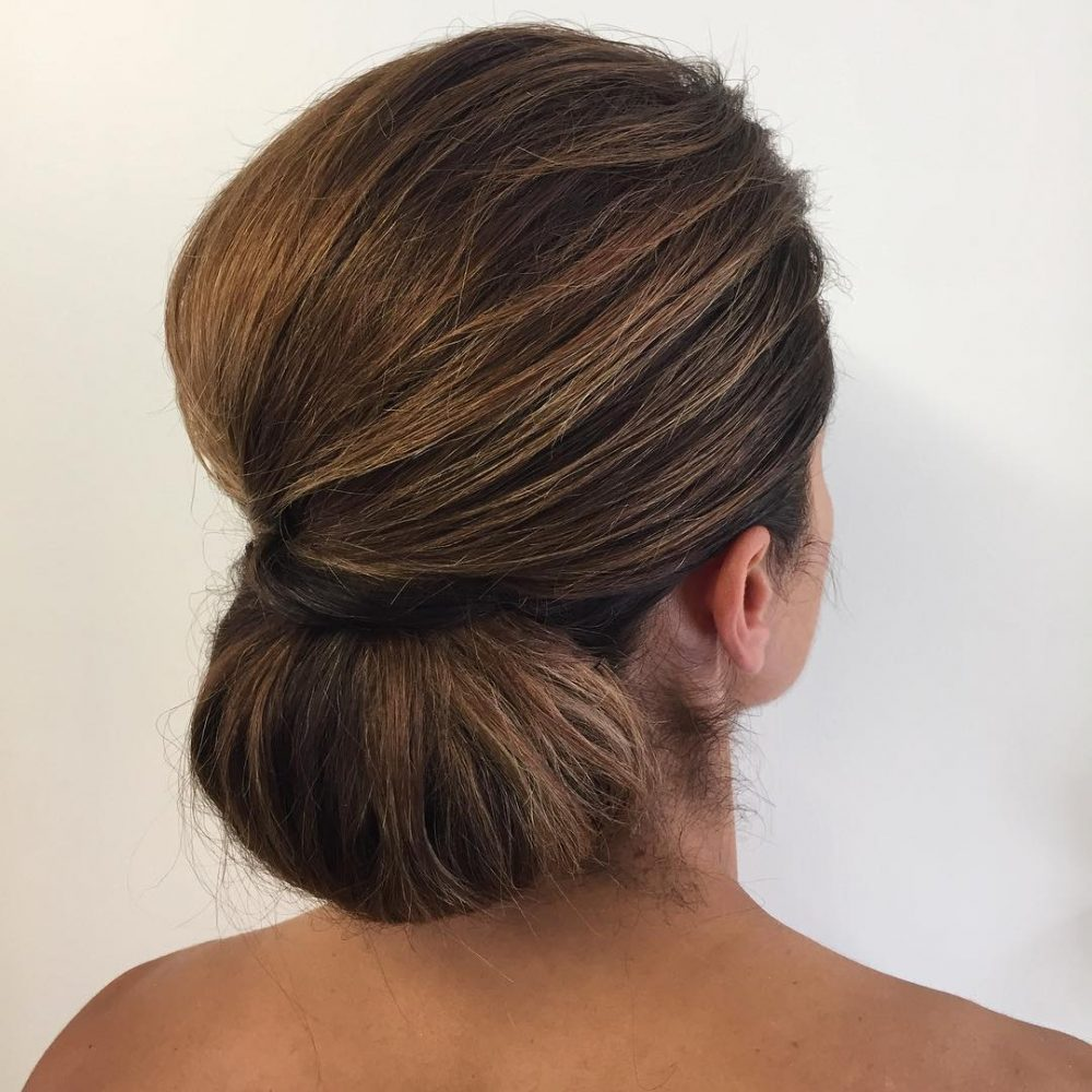 18 Simple Updos That Are Super Cute Easy 2019 Trends