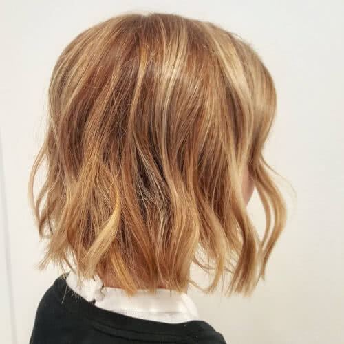 A Clic Shoulder Length Bob Haircut