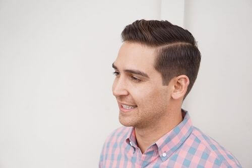 classic mens hairstyle