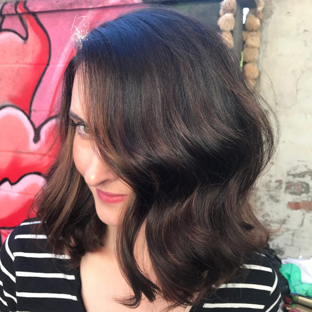 Classic Mid-Length Bob hairstyle