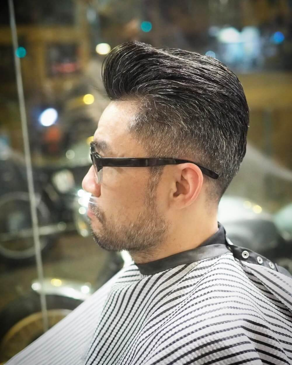 Rockabilly Pomp hairstyle
