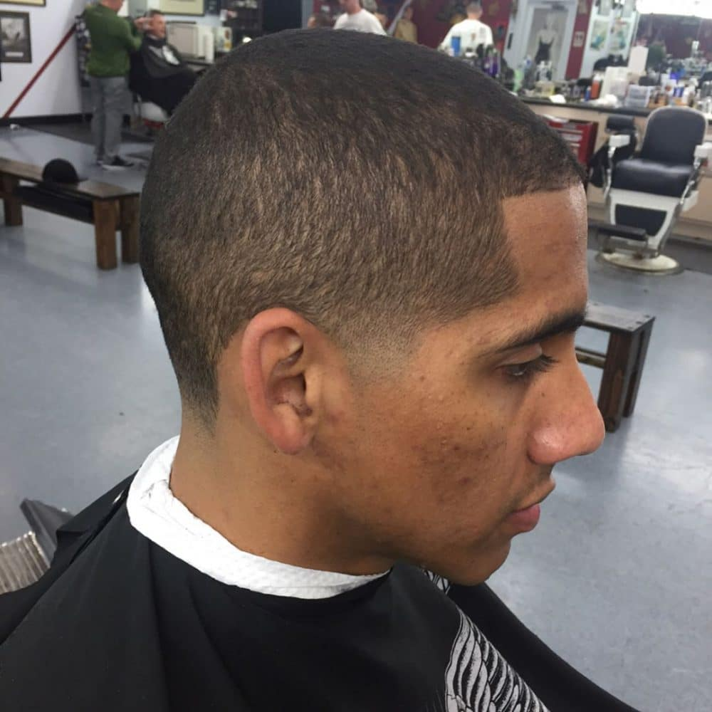 Classic Taper Fade hairstyle