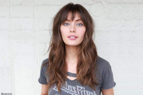 Popular hairstyles for square faces