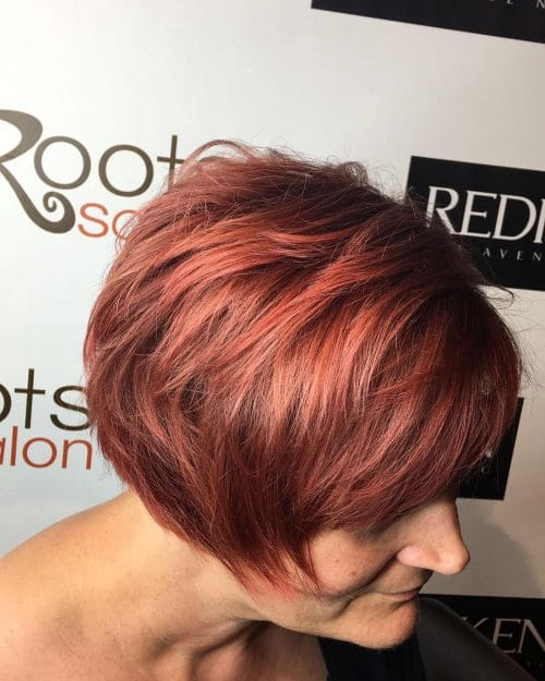 Classy Textured Bob hairstyle