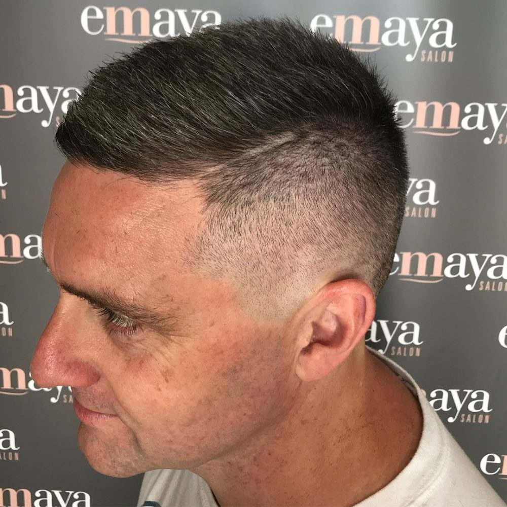 Clean Blended Fade hairstyle