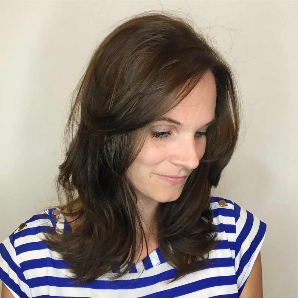 Collar-Length Layers hairstyle