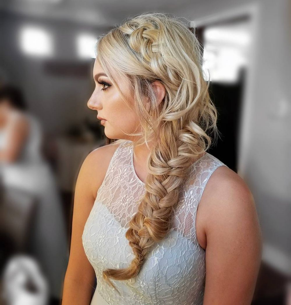 Braid Hairstyles For Wedding Party: Wedding Hairstyles For Long Hair: 24 Creative & Unique