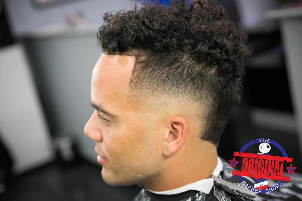 Combo Fade hairstyle