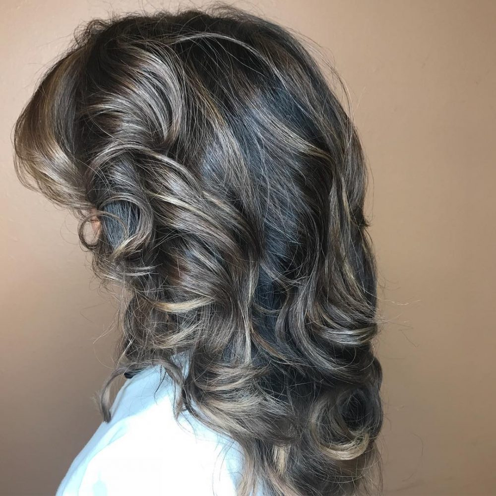 Complementary Layered Shag hairstyle