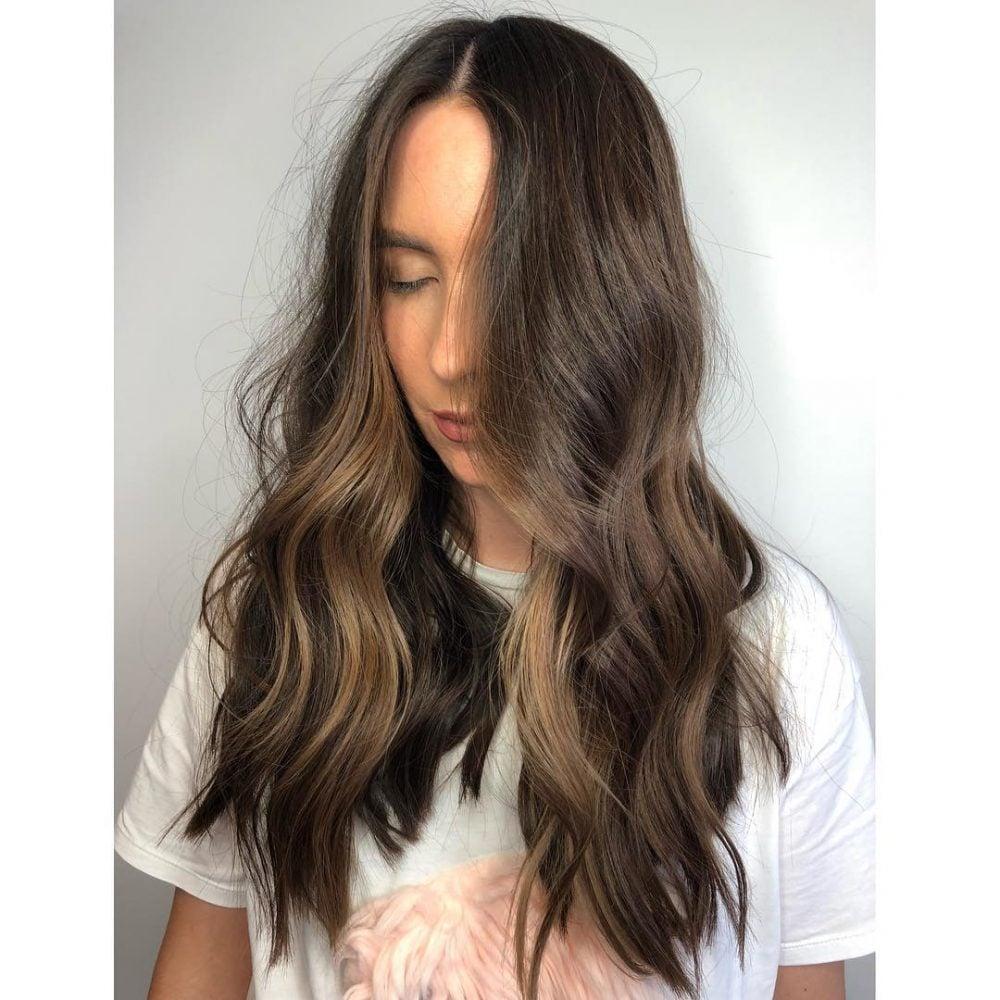 Contoured Balayage hairstyle