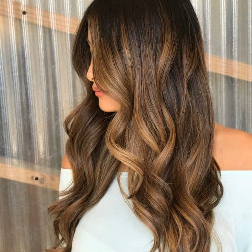 Cool Caramel Highlights