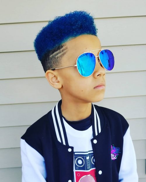 Cool Flat Top for Little Boys