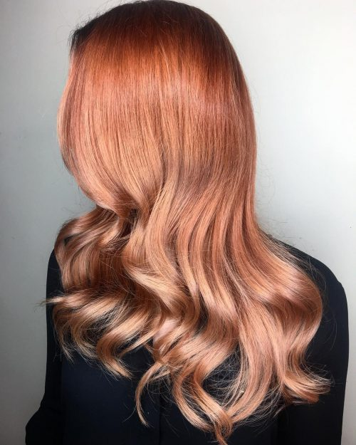 44 Copper Hair Color Shades For Every Skin Tone In 2019