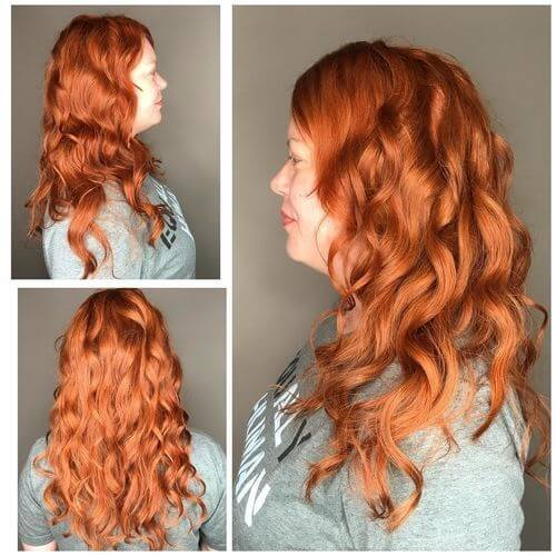 Red Hair Color Chart Unique Getting Back To Your Natural Hairstyle Blog Of