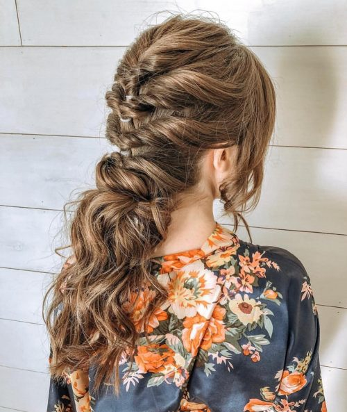 27 Prettiest Half Up Half Down Prom Hairstyles for 2021