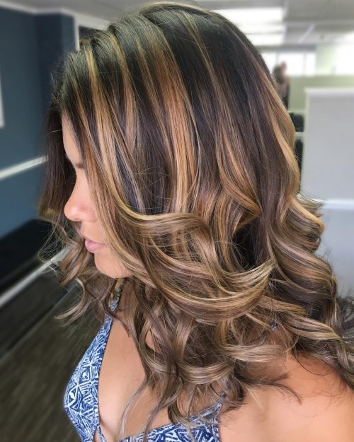 Picture of creme caramel highlights