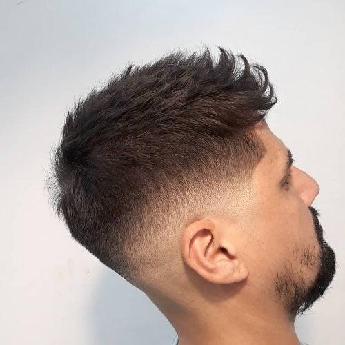 Corte de cuello redondo
