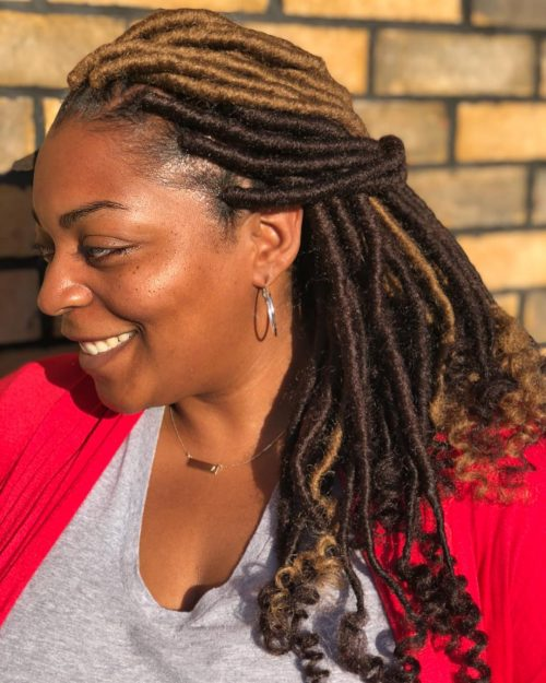 22 Hottest Faux Locs In 2019 Get Your Goddess On