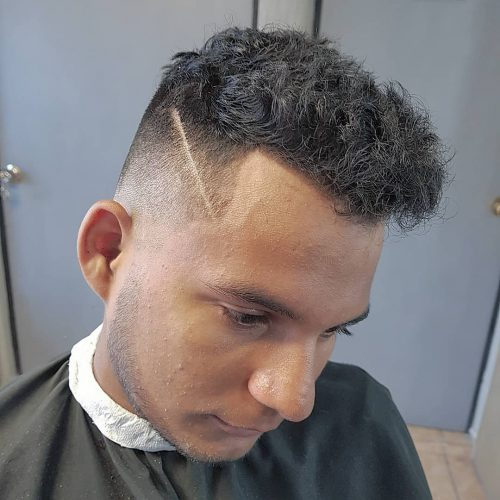 Mexican Taper Fade Haircut 93