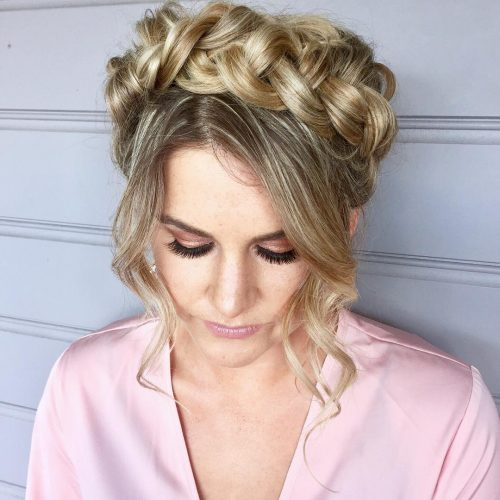 Crown of Braids hairstyle